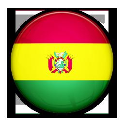 Bolivia, Flag, Of Icon