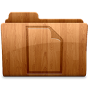 Document, Glossy Icon