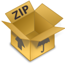 Archive, Zip Icon