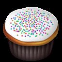 Cupcakes, White Icon