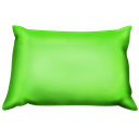 Green, Pillow Icon