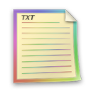 Files, Txt Icon