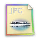 Files, Jpg Icon