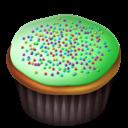 Cupcakes, Green Icon