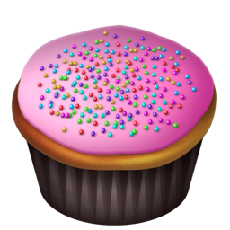 Cupcakes, Pink Icon