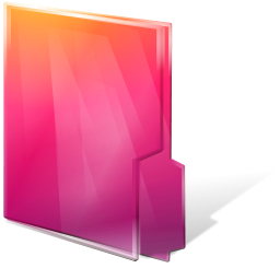 Aurora, Close, Folders, Icontexto Icon