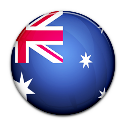 Australia, Flag, Of Icon