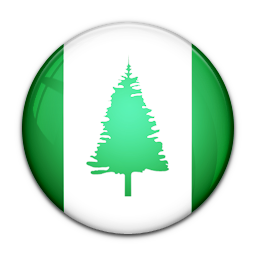 Flag, Island, Norfolk, Of Icon