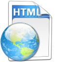 Alt, File, Html Icon