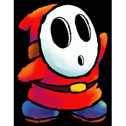Red, Shyguy Icon