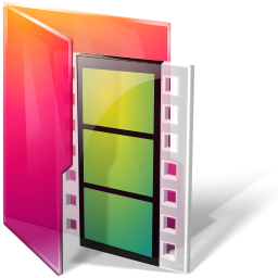 Aurora, Folders, Icontexto, Movies Icon