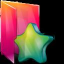 Aurora, Favorites, Folders, Icontexto Icon