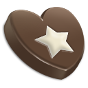 Chocolate, Star Icon