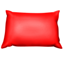 Pillow, Red Icon