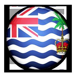 British, Flag, Indian, Ocean, Of, Territory Icon