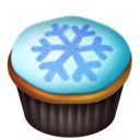 Cupcakes, Snowflake Icon