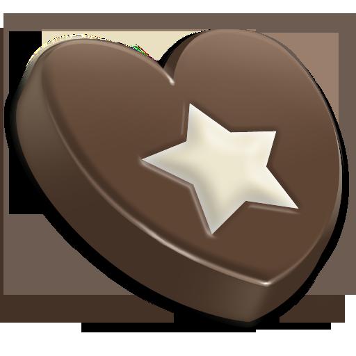 Chocolate, Star Icon