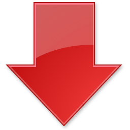 Down, Index, Stock Icon
