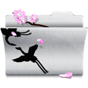 Folder, Office, White Icon