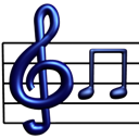 Musical, Notation Icon