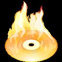 Burn, Disk Icon