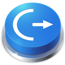 Button, Logoff Icon