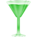 Green, Wineglass Icon