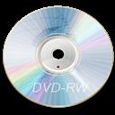 Blue, Dvd, Rw Icon