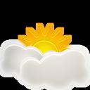 Interval, Sunny Icon