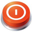 Button, Shutdown Icon