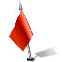 Flag2leftred Icon