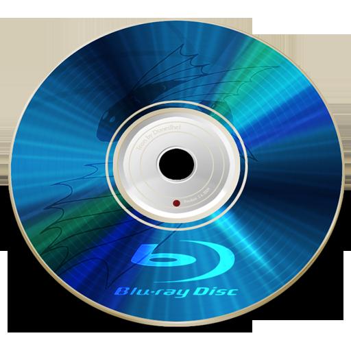 Blu, Disc, Ray Icon