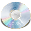 Blue, Cd, Rw Icon