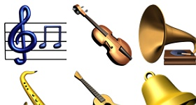 Music Library Icons