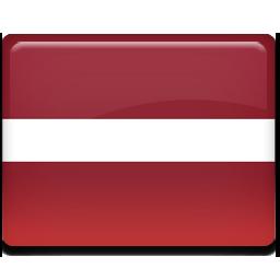 Flag, Latvia Icon