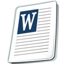 Document, File Icon