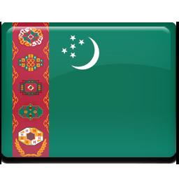 Flag, Turkmenistan Icon