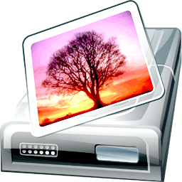 Drive, Pictures Icon