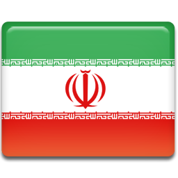 Flag, Iran Icon