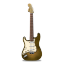 Bright, Guitar, Orange, Stratocaster Icon