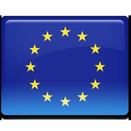 European, Flag, Union Icon