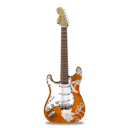 Flowers, Guitar, Stratocaster Icon