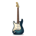 Guitar, Stratocaster, Turquoise Icon