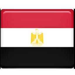 Egypt, Flag Icon