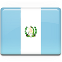 Flag, Guatemala Icon