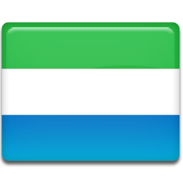 Flag, Leone, Sierra Icon
