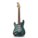 Guitar, Metallicholes, Stratocaster Icon