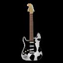 Cow, Guitar, Stratocaster Icon