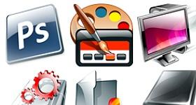 Flash Black Edition Icons