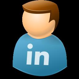 Icontexto, Linkedin, User, Web Icon